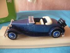 ELIGOR 1:43 AUTO DIE CAST DELAGE D8 1934 CABRIOLET DECOUVERT BLU ART 1038