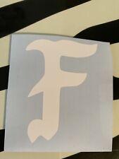 Forward Observations Group FOG Inspired White F Sticker Vinyl Decal