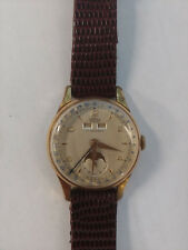 Vintage Cornavin Triple Date Calendar Moonphase Chronograph serviced and working