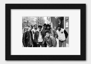 Beastie Boys - With Run DMC in Amsterdam Holland 1987 Print