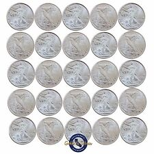 Lot of 25- New 1/10 oz Liberty Design .999 Fine Silver Rounds