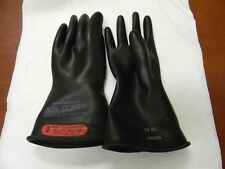 "Novax Rubber Lineman's Glove Class 0 Size L (9), 11"" Long 150-0-11/9"