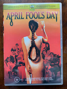 April Fool's Day DVD 1986 Horror Movie Slasher Australian Region 4