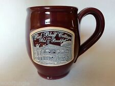 RED BLUFF COTTAGE BED & BREAKFAST MONTGOMERY ALABAMA DENEEN POTTERY COFFEE MUG