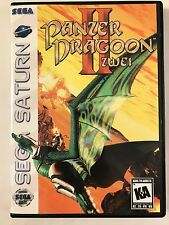 Panzer Dragoon II Zwei - Sega Saturn - Replacement Case - No Game