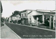 CARTOLINA d'Epoca  BERGAMO  - Romano di Lombardia :  VIA BALILLA