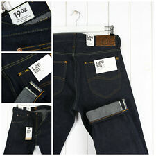 NEW LEE 101Z  19OZ HEAVY JEANS DRY/RAW SELVEDGE REG. STRAIGHT FIT_ W32 L32 32X32