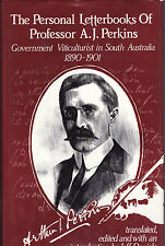 THE PERSONAL LETTERBOOKS OF PROF. PERKINS VITICULTURALIST SOUTH AUSTRALIA wine