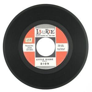 DION Litte Diane/Lost For Sure 7IN 1962 DOO WOP VG++