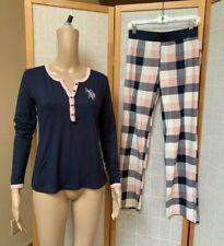 US Polo Assn ~ Pajama Set ~Long Sleeve Top & Pants ~PJ Set ~Size S/CH