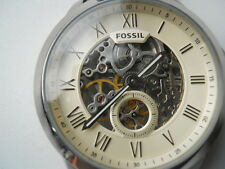 New Fossil Automatic men's leather Dress watch.Winding & automatic watch.Me-3052