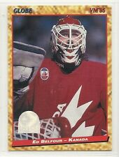 1995 Semic Globe World Championships - #74 - Ed Belfour - Team Canada