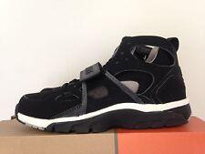 Nike Air Trainer Huarache Black Grey Sz 6Y NIB Raiders DS Vintage Find