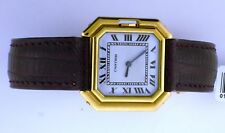 Cartier Ceinture 18k Yellow Wrist Watch with 18kt gold deployment clasp