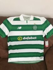 celtic football club FC new balance soccer jersey NWT size L Men's