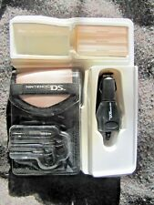 Power A Starter Kit for the Nintendo DS LITE 12 Piece Set Game Case NEW BLACK