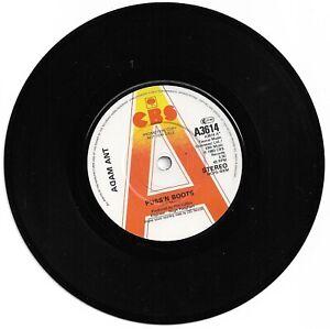 "Adam Ant - Puss 'N Boots - Scarce 1983 UK 2trk promo vinyl 7"""