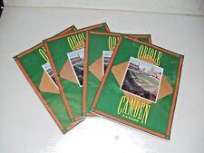 5 OLD VINTAGE MLB BALTIMORE ORIOLES PROGRAM 1992 ROSTER SHEETS RICK SUTCLIFFE