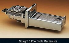 New Pool Table football table coin slot mechanism replaces 5 & 6 way mech new £1