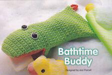 Crochet Pattern ~ BATHTIME BUDDY PUPPET WASHCLOTH ~ Instructions