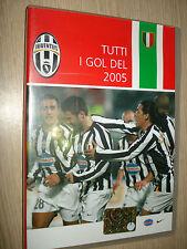 DVD TODOS METAS DE 2005 FC JUVENTUS JUVE DEPORTE OBJETIVOS EL SONOPRESSE JUVE