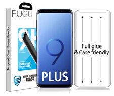 FUGU Samsung Galaxy S9+ PLUS Full Glue Adhesive Tempered Glass Screen Protector