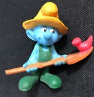 McDonalds' Happy Meal Toys The Smurfs Farmer from 2011