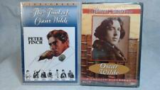 2 New Oscar Wilde DVD The Trials Movie Peter Finch & Biography Famous Authors
