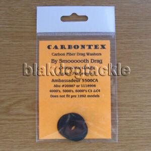 Carbontex Drag Washers to fit ABU Ambassadeurs 4500/5000/5500/6000/6500 Reels