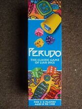 Perudo South American Liar Dice Game.- 100% complete - VGC PARTY FREE UK POST