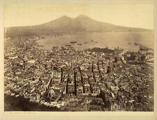 Photo Albuminé Napoli Naples Italie Vers 1870/80 # 5
