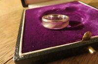 Details zu  Designer 925 Silber Ring feine Rillen unisex schlicht
