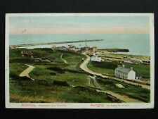 More details for channel island alderney breakwater & harbour c1906 postcard by p.s.