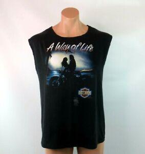 3D Emblem Harley Davidson T Shirt 1985 A Way of Life Sled Shed Fleetwood PA Cut