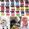 4Pcs/Set Pet Puppy Dog Socks Cotton Anti Slip Knitted Warm Sock Cat Skid Shoes