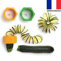 Aiguiseur éplucheur de Fruits Légumes Rondelle Découpe Carotte Concombre Etc