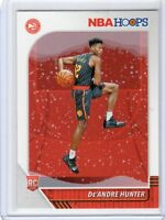 2019-20 De'Andre Hunter Panini NBA Hoops Rookie Card RC #202 Basketball Card