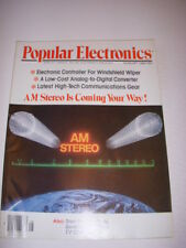 POPULAR ELECTRONICS Magazine, AUGUST 1980, AM STEREO IS COMING YOUR WAY!