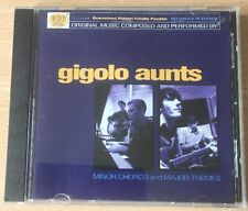 Gigolo Aunts - Minor Chords and Major Themes - RARE HDCD 1999 - FAST UK POST