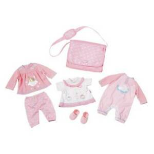 Baby Annabell Great Value Clothing Set With three outfits fits dolls up to 43cm