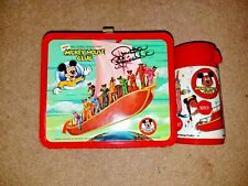 Mickey Mouse Club Lunch Kit with Annette Funicello Autograph~ WOW! 1 of 1 known!