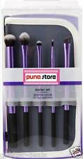 5 Piece Cosmetic Makeup Brush Set - with Storage Pouch