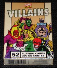 "Marvel Comics ""Villains"" Playing Card Deck: 52-327"