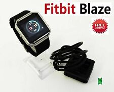 Fitbit Blaze Smart Watch Fitness Activity Tracker Black XL