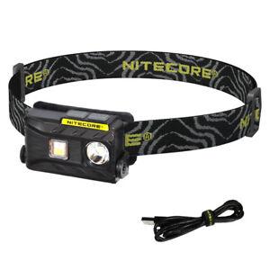 NITECORE NU25 360 Lumen White, Red, High CRI LED Rechargeable Headlamp (Black)