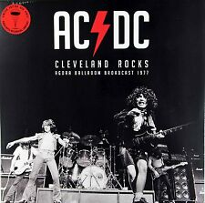 AC/DC - Cleveland Rocks - Ohio 1977 (Limited Edition Red Vinyl LP) Now in Stock