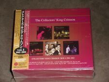 Collectors King Crimson Box Vol 4 1981-82 Japan 5-CD Set sealed