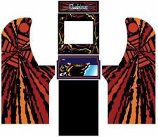 Arcade1up Arcade Cabinet Graphic Decal Complete Kits - Gyruss