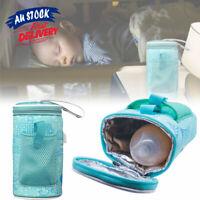 Baby Bottle Warmer Portable Milk Pouch Heater Travel Thermostat Bag Feeding USB