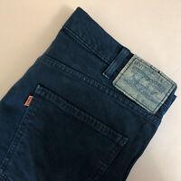 Levi 605 Jeans Straight Zip Fly Black Vintage Men's (PatchW34L34) W 35 L 33